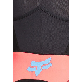 Fox Ascent Comp Bib Shorts Heren, neo red